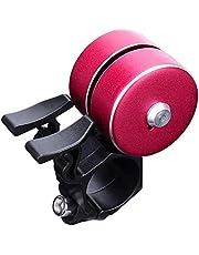 bibididi Double Click Bicycle Bell Fietsen Stuur Bell Alarm Mtb Bike Hoorn Voor Volwassenen,Fiets Bell Metal,Rood