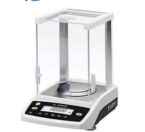 """Weighing System Sartorius Entris 64-1S Analytical Lab Balance, Precision Scale 60 g X.0001 g,External Cal,Pan 90mm / 3.5"""",2 year warranty,brand new"""