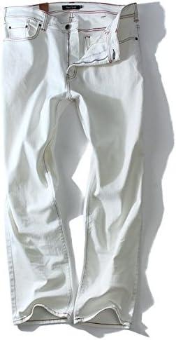 DANIEL DODD カラーストレッチデニムパンツ azd-167 大きいサイズ メンズ