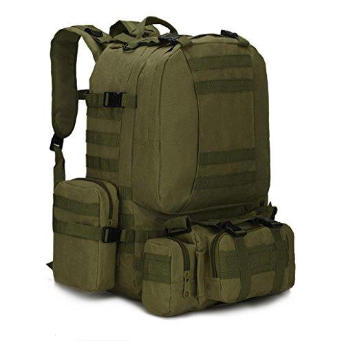 Fulltime (TM)–�?5.5l al aire libre Camping viaje senderismo escalada bolsa multifunción táctica mochila mochila–Mochila de hidratación (G)