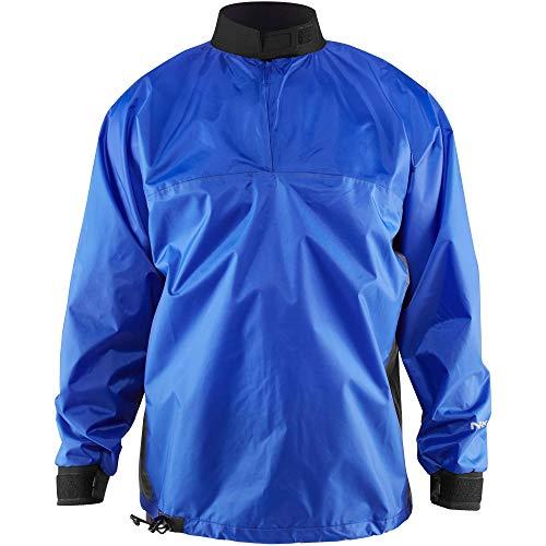 Splash Proof Jacket - NRS Rio Paddling Jacket-Blue-XL