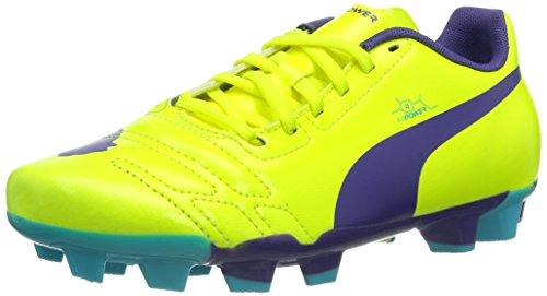 Puma Evopower 4 Fg Jr - Botas de Fútbol de material sintético niño Naranja