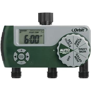 Amazon.com : Orbit 56082 Programmable Hose Faucet Timer, 3