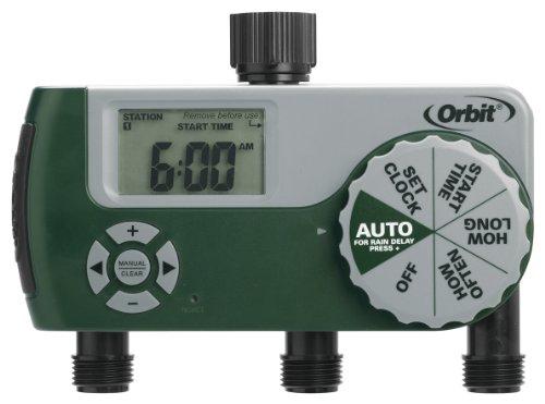 Orbit 3 Outlet Programmable Faucet Timer