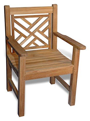 Teak Chippendale Chair