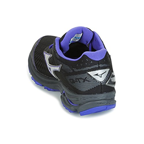 Wave Femmes Chaussures Noir Rider silver Sans Gtx Chaussure De 03 Stabilisateurs Running liberty Violet 20 Black Mizuno pqCAw5C