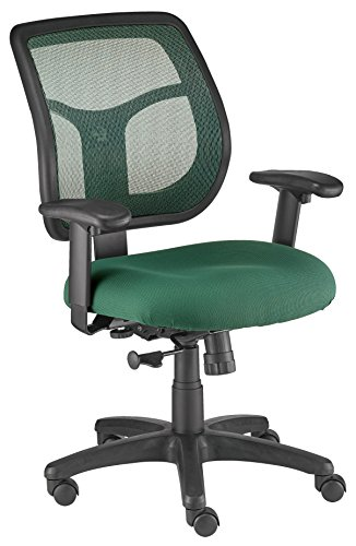Eurotech Seating Apollo MT9400-GRN Midback Swivel Chair, Green