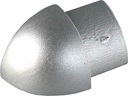 Coins Interieur 10mm Profile Pour Carrelage Quart De Rond Aluminium