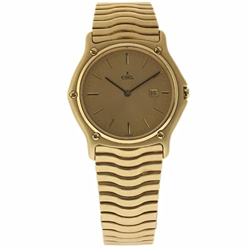 Ebel Classic Wave swiss-quartz mens Watch 75 (Certified Pre-owned)