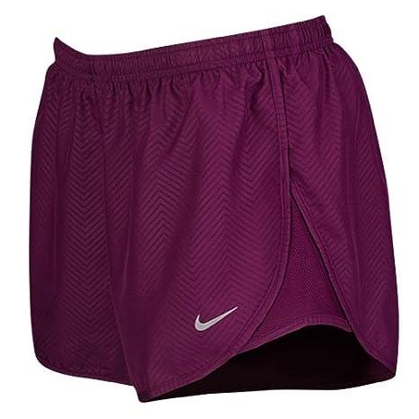 Nike Pierna Vestido Modern Embossed Tempo Shorts Women, Hombre, Color Morado, tamaño L