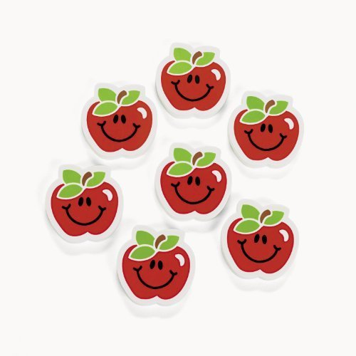 Apple Erasers (2 dz)