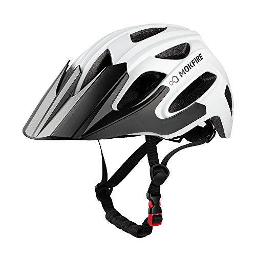 MOKFIRE Mountain Bike Helmet for Adult Men Women with USB