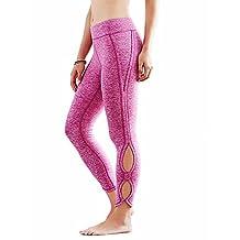 Fittoo Women's Yogo Pants Workout Leggings Capri Tights High Waist