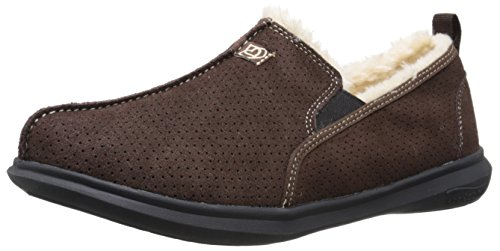 Spenco Men's Supreme Slipper, Chocolate, 11 M Medium US