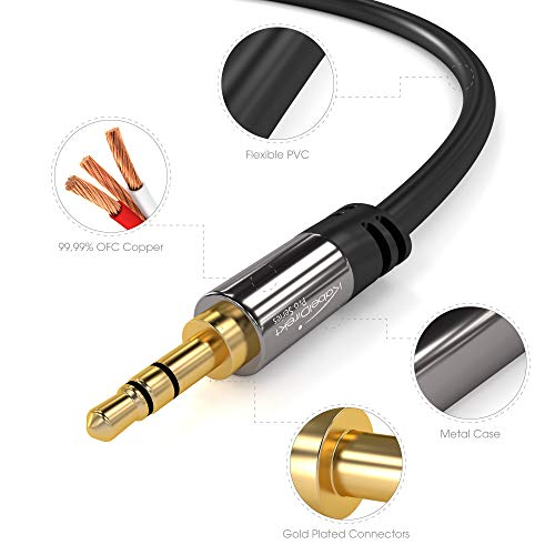 Buy computer audio cable male to male