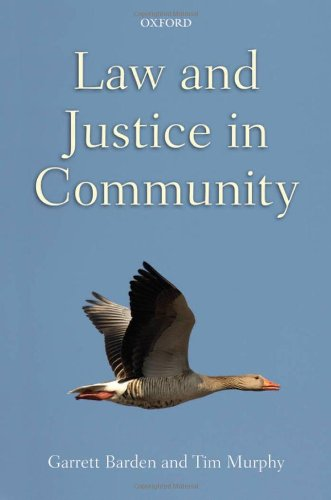 Law and Justice in Community by Oxford University Press