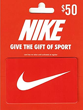 Amazon.com: Nike $50 Gift Card: Gift Cards