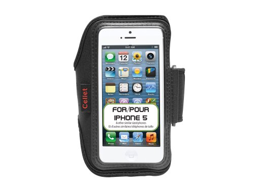 Armband Apple iPhone Pocket Neoprene Cellet