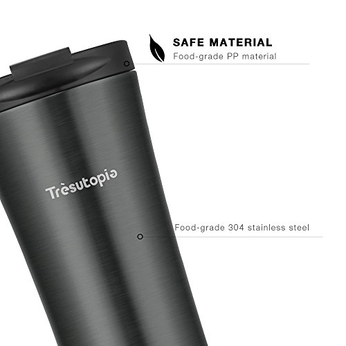 Stainless Hekla Steel Trèsutopia Mug Leakproof Travel Insulated 0kwOP8nX