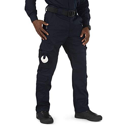 5.11 Tactical Men's EMS Unhemmed Pant, Teflon Finish, Adjustable Waistband, Gusseted, Style 74310L