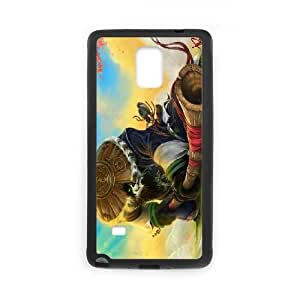 Chen Stormstout Samsung Galaxy Note 4 Cell Phone Case Black Personalized Phone Case LK5S36LS5