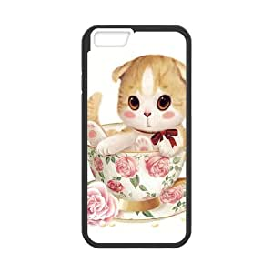 Fashion Carton cat Personalized iPhone 4 4s Case Cover