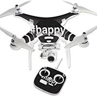 Skin For DJI Phantom 3 Standard – Happy | MightySkins Protective, Durable, and Unique Vinyl Decal wrap cover | Easy To Apply, Remove, and Change Styles | Made in the USA