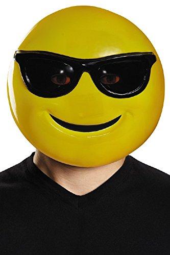 Emoji Mask Costume Accessory]()