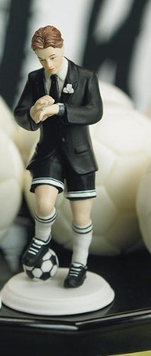 Weddingstar Soccer Player Groom Mix & Match Cake Topper