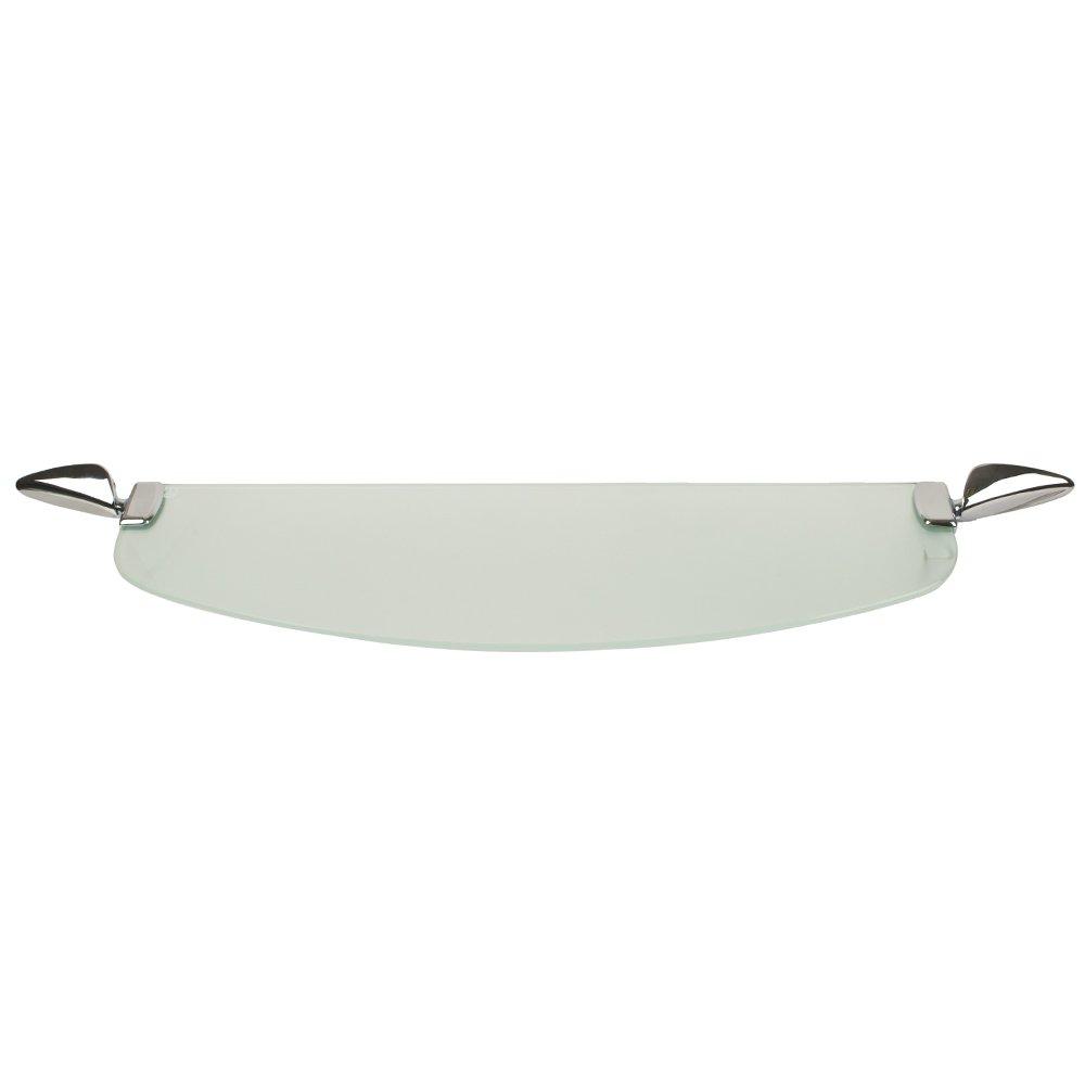 Amazon.com: Triton Metlex Eclipse Bathroom Frosted Glass Shelf ...