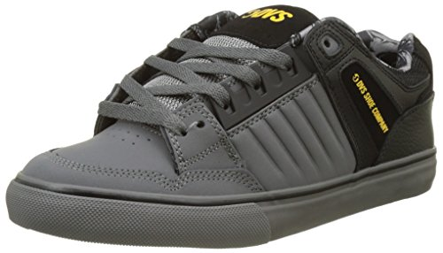 DVS APPAREL Celsius Ct, Zapatillas de Skateboarding para Hombre Noir (Black Charcoal Leather Nubuck Deegan)