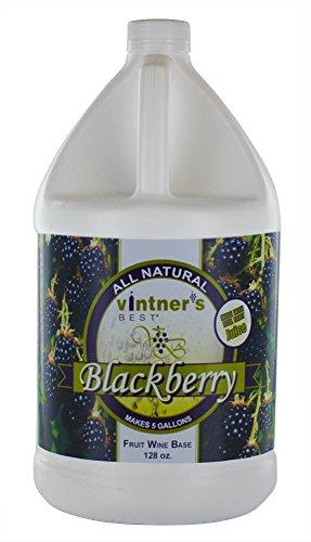 Wine Blackberry Della - Home Brew Ohio Vintners Best Fruit Wine Base, Blackberry