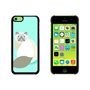 Geometric Ginger Persian Cat Snap On Hard Protective For SamSung Galaxy S3 Phone Case Cover - Pink
