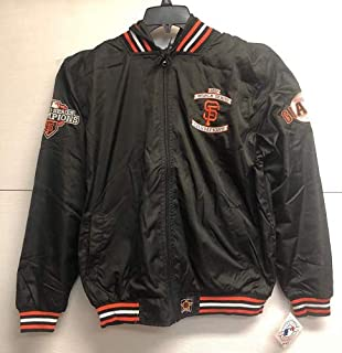 cb0aecf5c San Francisco Giants 2012 World Series Champions Mens Hooded Nylon Jacket  by JH Design