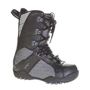 Lamar Justice Snowboard Boots Black - Kid's