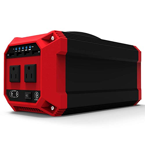 (ExpertPower Alpha 300 Lithium Portable Power Station, 270Wh LiPo Rechargeable Solar Generator for Emergency or Camping Use with 300W AC Outlet, 12VDC and USB Outputs for Portable Fridge and More)