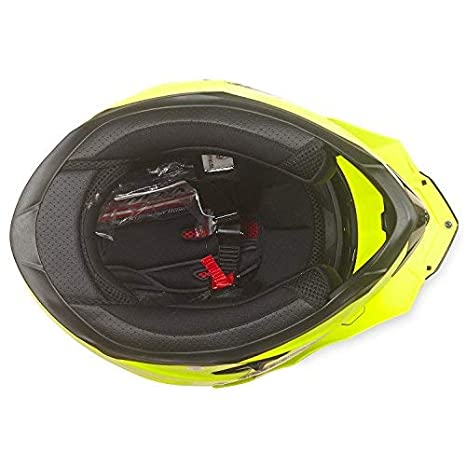 Large, Matt Black NENKI Helmets NK-313 Full Face Dual Sport Helmets ECE Approved With Dual Visors