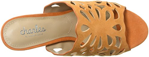 Charles Di Charles David Womens Nicki Slide Sandal Ginger