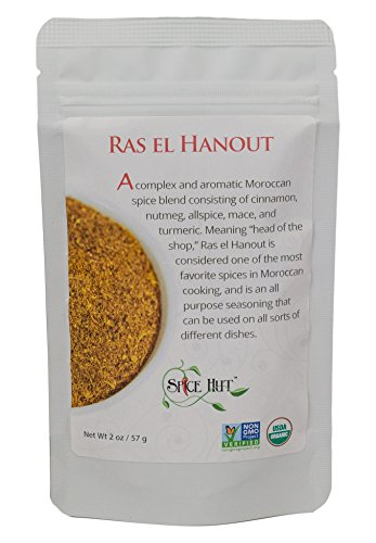 - The Spice Hut Organic Ras el Hanout, 2 Ounce