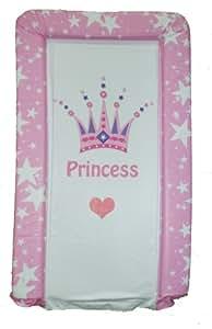 Cambiador de Bebé PVC Para Niñas De Lujo - Corona Princesa Rosa