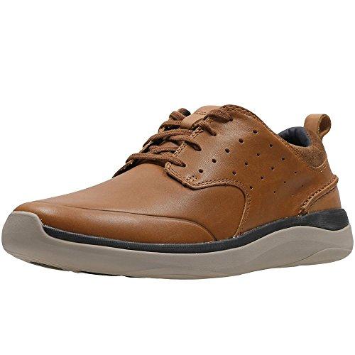 Clarks Herren Garratt Pizzo Sneaker Braun