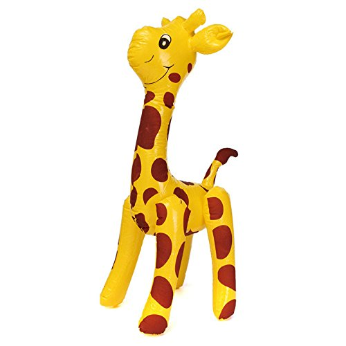 Pink Lizard Inflatable Giraffe Animal product image