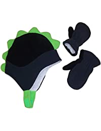 Little Boys and Baby Soft Sherpa Lined Fleece Dino Hat...
