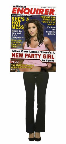 Rasta Imposta - Magazine Cover - National Enquirer, Party Girl Adult Costume