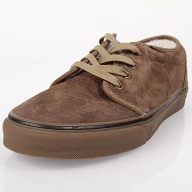 6912b8cc6b Vans 106 Fleece SF (Fleece) Wood Brown 47  Amazon.co.uk  Shoes   Bags