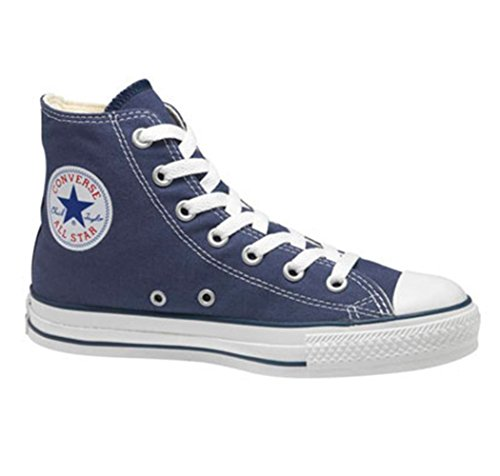 Converse Unisex Chuck Taylor All Star High Top (4 D (m) Uomini = 6 B (m) Donna, Blu Scuro)