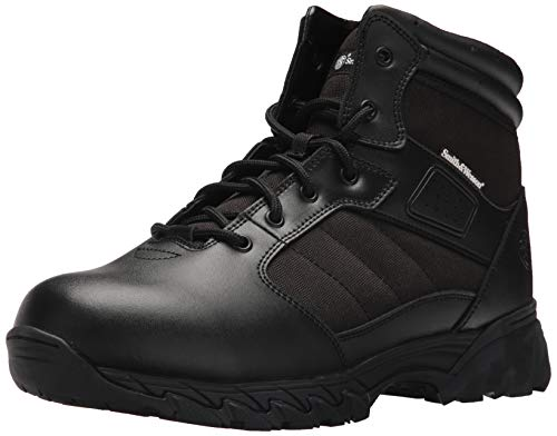 Smith & Wesson Men's Breach 2.0 Tactical Size Zip Boots, Black, 9 ()