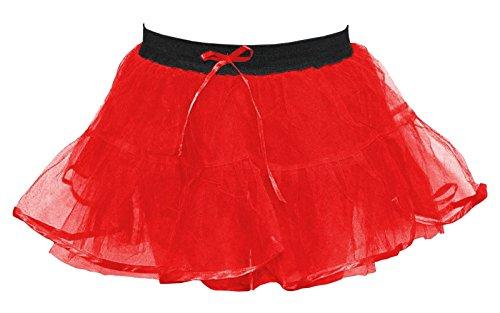 Nuit Dames Net Ballet 4 Femmes Fancy Tutu de Halloween Janisramone Nouveau Jupe Poule Rouge Mini Couches Fte Plus Danse xCq0Awxt5