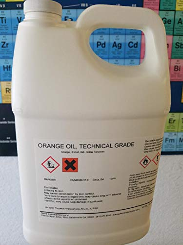 Orange Oil Technical Grade Cold Pressed GALLON