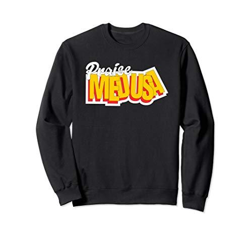 Medusa sweatshirt Funny Medusa Halloween Monster Shirt